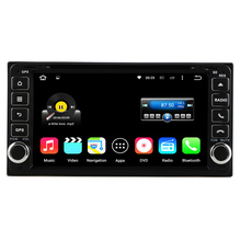 Quad Core Android 5.1 Universal 2 Din Car DVD Player GPS For Toyota Hilux Vios Camry Crown Corolla Prado RAV4 Yaris 1996-2009