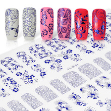 Perfect Summer Newest 60PCS/Sheet 3D Nail Stickers Top Quality Mix Design Nail Art Tips Stickers Decal 1PCS