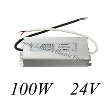DIANQI waterproof power supply 100w 24v power suply ac dc converter  WATERPROOF ELECTRONIC LED DRIVER water proof