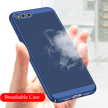 YKZ Breathable Hard Back PC Case For Xiaomi Max2 Protection Cover For Xiaomi M5 M5C M5S M6 Cases Shell Hard Frosted PC R35(China)