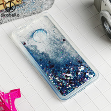 AKABEILA Glitter Liquid Soft TPU Case For Huawei Nova CAN-L12 CAN-L11 CAN-L01 CAN-L02 Covers Coque Phone Case Bling Back Cover