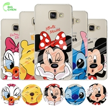 Soft Silicone TPU Case Cover for Samsung Galaxy A3 A5 A7 2015 2016 2017 A520 A310F A510F Colorful Painting Phone Back Protector