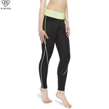 B. BANG Femmes Yoga Sport Pantalon Élastique Collants Femelle Remise En Forme Ultra-Mince Pantalon Mince de Course Professionnelle Jambières de Remise En Forme Pantalon