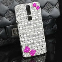 Pearls Bling Smartphone Cover Case for ZTE Axon Mini High Quality Hard PC Celular Funda Case Cover for ZTE Axon Mini Accessories