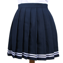 18 Colors Love Live Japan Cute Cosplay School Uniform Skirt Japanese High Waist Pleated Skirt JK Student Girls Solid Skirts