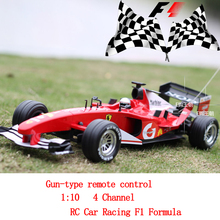 Racers Series F1 Racer RC Car Racing F1 Formula One Car 1:10 Radio Control cars model electronic toy vehicles(China)