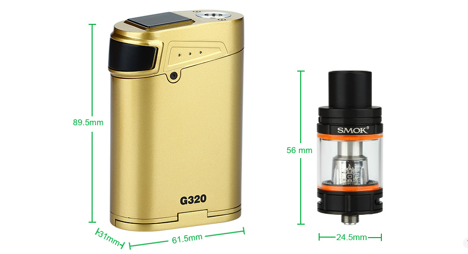 Original 3w SMOK G3 Marshal 3 KIT with 5ml Smok TFV8 Big BABY Tank Atomizer & G3 Box Mod 3w electronic cigarette Vape 4