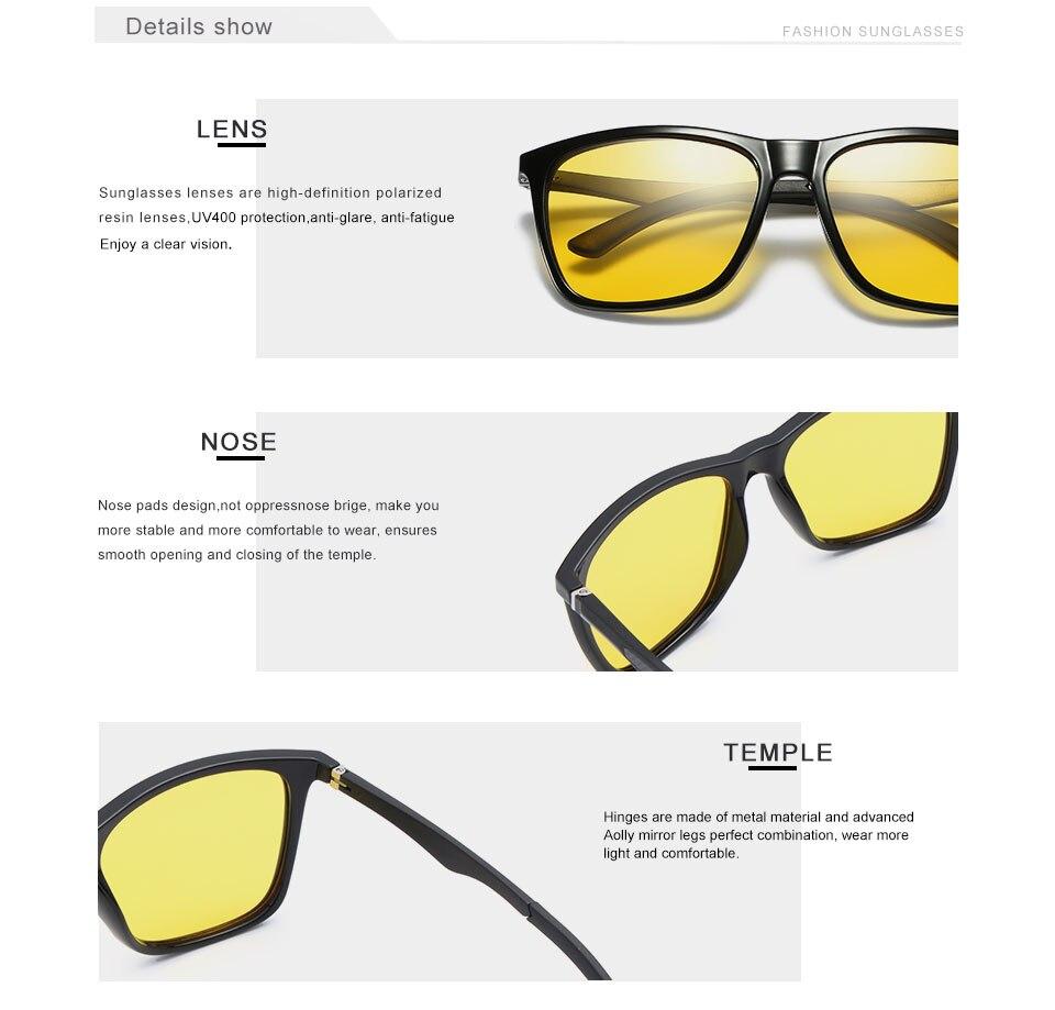 JAGGER - Retro Yellow Sunglasses for Men | Dukesman.com