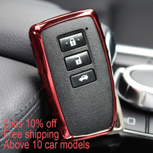 Car styling Car Key Cover For Lexus NX GS RX IS ES GX LX RC 200 250 350 LS 450H 300H Auto Accessories Key Case for Car Lexus