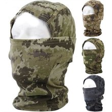 Army Tactical Hunting Training  Airsoft Paintball Full Face Balaclava Mask Acessorios
