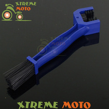 Chain Brush Maintenance Cleaning Brush Cleaner For CRF CR XR KTM YZ YZF WR KX KLX RM RMZ RMX DR DRZ Motocross Motorcycle Enduro