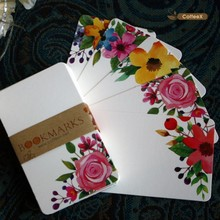 Darling Blank DIY Series Flowers Word Card Message Card Blank Card 50 / Set Handmade Greeting Cards Christmas Gifts Postcards