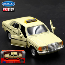 1:36 11.5cm new Welly W123 Santana Taxi bubble car alloy vehicle model pull back cool boy birthday toy(China)