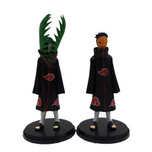 Naruto 2pcs/set Uchiha madara Akatsuki 2th Generation action Figures Dolls 17cm PVC Cartoon Model Decoration toys Children - Anime Factory Store store