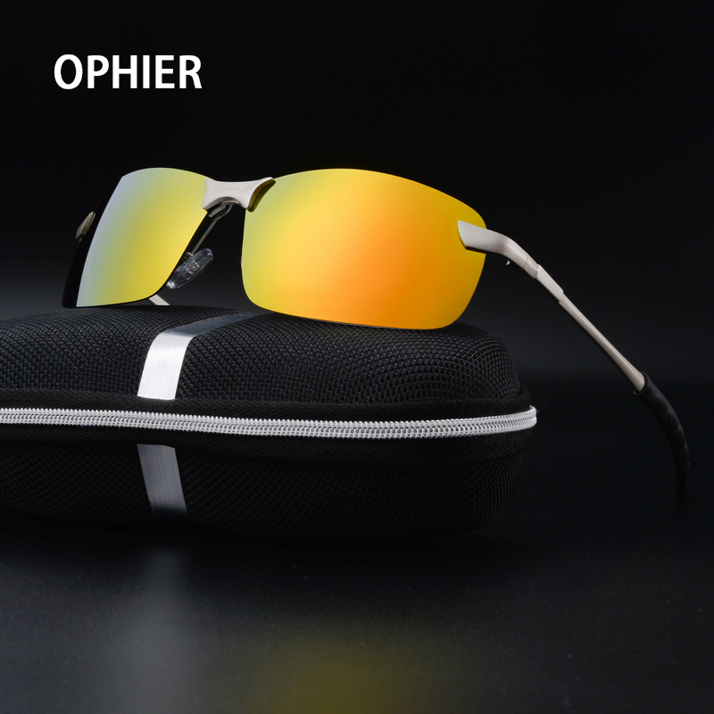OPHIER Polaroid Men Polarized Driving Sun Glasses Mens Sunglasses Brand Designer Fashion Oculos Gafas Male Sunglasses With Case<br><br>Aliexpress