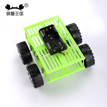 PW M169 DIY Mini Car Technology Invention Funny Puzzle Education Car Toy(China)
