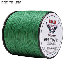 ODETOJOY Multifilament Fishing line 4 strand 500M super strong PE Braided line10-80 LB PE fishing line Carp Saltwater braid(China)