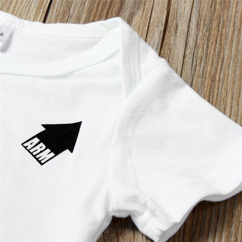 Summer Babys Romper Jumpsuit Toddler Infant Baby Girl Boy Short Sleeve Letter Romper Jumpsuit Baby Boy Girl Clothes M8Y18 (5)