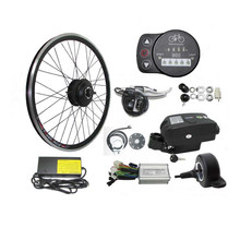 36V 350W Electric Bicycle Kit 13AH Lithium Battery E Bike Conversion Kit Long Range Pedal Assist E-bike Kit