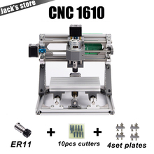 CNC 1610 with ER11,diy cnc engraving machine,mini Pcb Milling Machine,Wood Carving machine,cnc router,cnc1610,best Advanced toys(China)