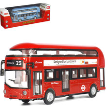 1XCity Bus Music Light Toy Designed for Londoners Kids Children Playing Game