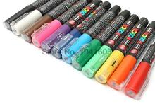 2 Pcs/Lot Uni Posca PC-1M Paint Marker- Extra Fine Bullet Tip-0.7mm 14colors available rotulador(China)