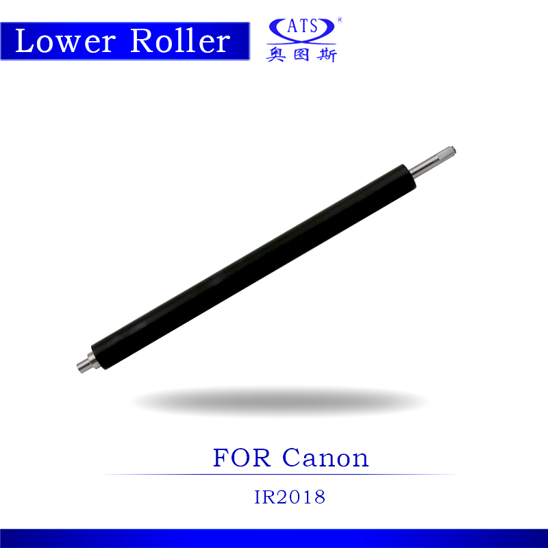 1PCS Photocopy Machine Lower Pressure Fuser Roller For Canon IR2018 Copier Parts IR 2018<br>