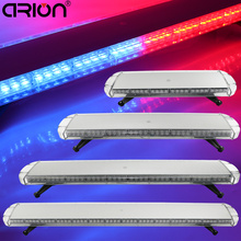 "CIRION 30"" to 72"" Led Car Truck Police EMS flashing warning emergency lightbar Security Roof Top Strobe Light Bar Red Blue(China)"