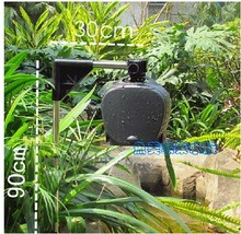 0.0 Koi pond dedicated feeder automatic feeding box (with stand) dedicated to feed the fish pond is clearing(China)