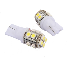 Brand New DC12V 1pcs/lot T10 194 168 W5W 3528 SMD 10led White LED Auto Car Lighting Wedge Side Lamp Bulb(China)