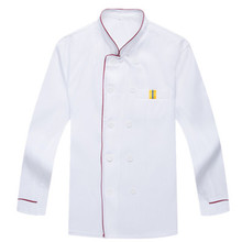 Chef Uniform,Unisex long sleeve Chef Top Jackets,double-breasted button Food Services Cooking Clothes,Kitchen Work Wear(China)