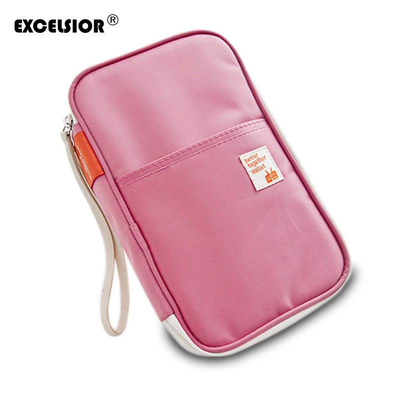 New Fashion Unisex Multifunction Passport Bag Package of Documents and Bills Travel Holder Bags Colors Vary Free Shipping G0305<br><br>Aliexpress
