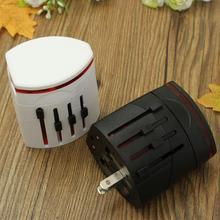 2USB Convinien All in One Universal World Travel Charger Adapter Plug AC Converter to US/UK/AU/EU Plug Socket International