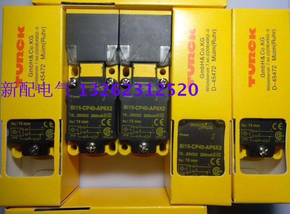 Bi15-CP40-AP6X2 Turck 100% New High-Quality Proximity Switch Sensor Warranty For Two Year<br><br>Aliexpress