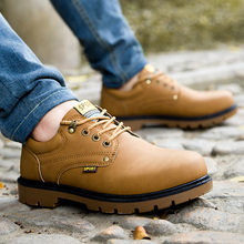 NEW Fashion Winter Warm Ankle Male Boots Suede Leather Lace-up Men Casual Shoes Soft Men Winter Boots
