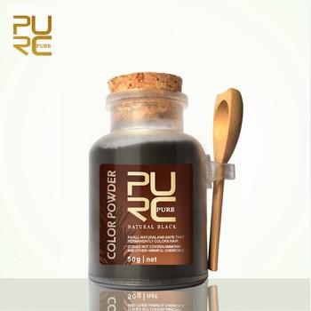 PURC polvo de color de Pelo tinte para el cabello a base de hierbas orgánico en polvo para coloración del cabello especial seguro permanentemente 50g color de pelo permanente 11.11