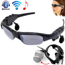 Wireless Flip-up Bluetooth Sunglasses Headset Stereo MP3 Music Glasses Earphone Headphone for Phone Hands-free / Tablet PC c5
