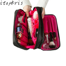 Itopkris Beauty Female Cosmetic Bag Makeup Bag Travel Organizer Dressing Case Large Capacity Toiletry Bag Women Necessaire Bag(China)