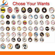 Cartoon cute Touch ID Home Button Sticker For iPhone 5 5S SE 6 6S 7 8 Plus For Ipad air 2 mini Fingerprint Identification Keypad(China)