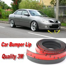 Car Bumper Lips For Proton Waja / Impian / Wira / Front Lip Deflector Lips Skirt / Body Kit Strip / Body Chassis Side Protection