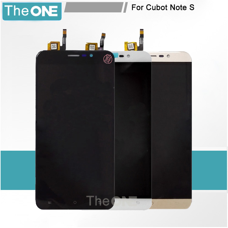 For CUBOT Note S LCD Display with Touch Screen Digitizer 1280X720 HD 5.5inch Black/White/Gold Replacement Parts<br><br>Aliexpress