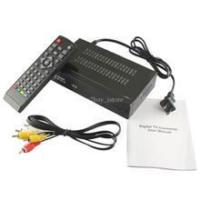 Digital Analog Converter Box Receiver Set 1080P ATSC Terrestrial Broadcast Top Box With Media Player USB Recording RF 54-803MHz