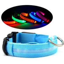 Glowing Pet Collar Dog USB Charge Light Night Safety Flashing in Dark Lighted Cat Collar LED Dog Collars For Small Dog Accessory(China)