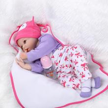 reborn doll The baby doll soft cute sleeping doll puzzle popular in Europe and the United States
