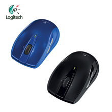 Logitech M545 Wireless Mouse 2.4Ghz with 75g Black / Blue for PC Game Office Mouse for Home Use Support Official Verification(China)