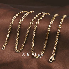 NL29 36 inch / 45 inch Stainless Steel Chain fit Pregnancny Bola de grossesse Pendant Gold-C on Copper Necklace Jewelry(China)