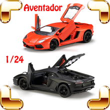 New Arrival Gift MZ Aventador 1/24 Diecast Model Metal Car Alloy Frame Detail Best Collection For Fans Racing Vehicle Toys