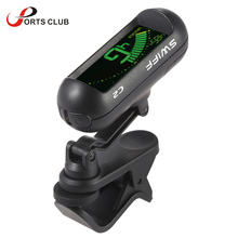 SWIFF C2 Rotation Handheld Clip-On Guitar Tuner Automatic Digital Universal Tone Tuner for Guitar Bass Chromatic Violin Ukulele