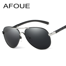 AFOUE Men's Sunglasses Brand Designer Pilot Polarized Male Sun Glasses Eyeglasses gafas oculos de sol masculino For Men(China)