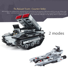 549pcs Marine Tank MILITARY Warship Navy Seals Team Creator SWAT World War Army Building Blocks figures Toys Children Boys Gifts